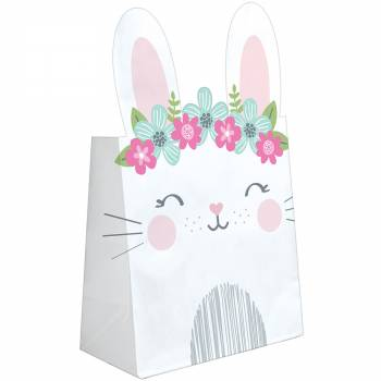 8 Sacs en papier Bunny Party