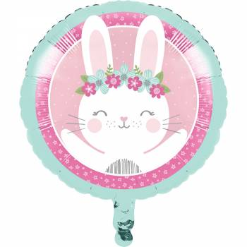 Ballon Hellium Bunny Party