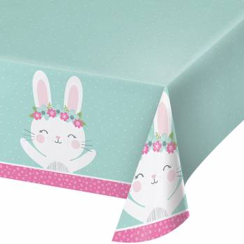 Nappe en plastique Bunny Party