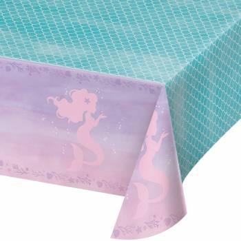 Nappe en plastique sirène shine