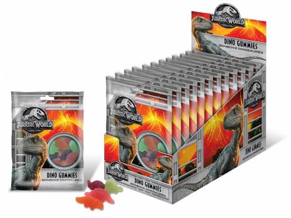 Bonbons gélifiés Jurassic World 100gr