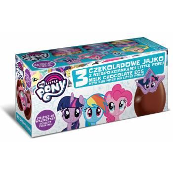 3 oeufs surprise chocolat My little pony