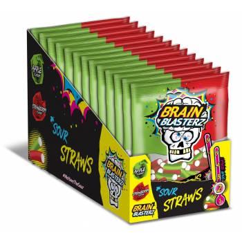 Bonbons fourrés acide Brain Blasterz 120gr