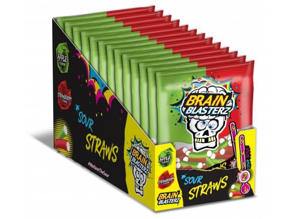 Bonbons fourrés acide Brain Blasterz