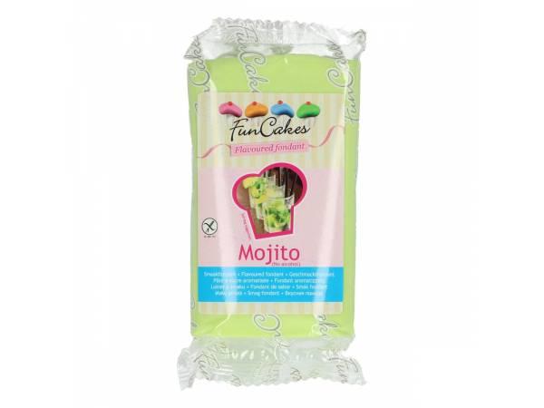Pâte à sucre Funcakes aromatisé au Mojito pour décorer vos gâteaux