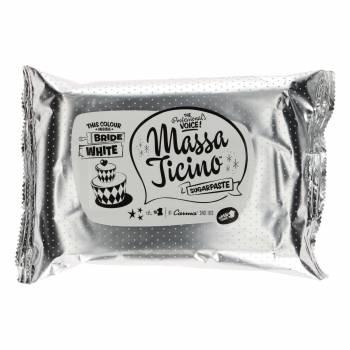 Pâte à sucre Massa Ticino Blanc nuptial 1Kg