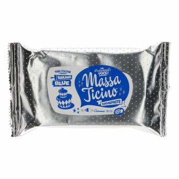 Pâte à sucre Massa Ticino Bleu marin 250g