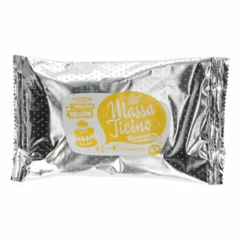 Pâte à sucre Massa Ticino Jaune pâle 250g