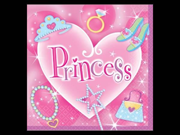 deco anniversaire enfant th me princesse fashion serviettes. Black Bedroom Furniture Sets. Home Design Ideas