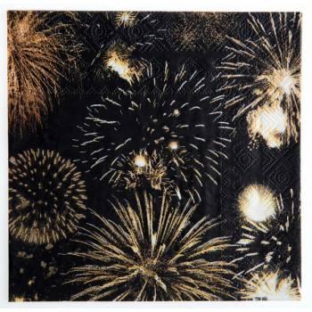 20 serviettes Happy new year