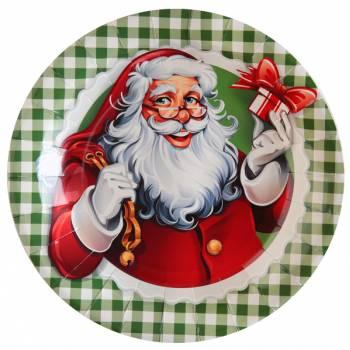 10 assiettes Il était une fois Noël