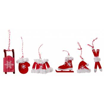 6 suspensions de Noël ski