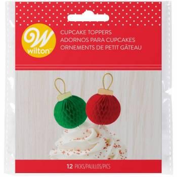 12 Pics décos boules de Noël Wilton