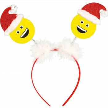 Serre tête Emoji Père Noël