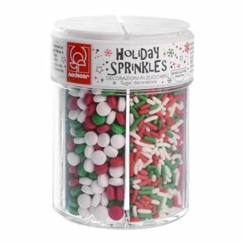 Assortiment 6 Confettis de Noël en sucre