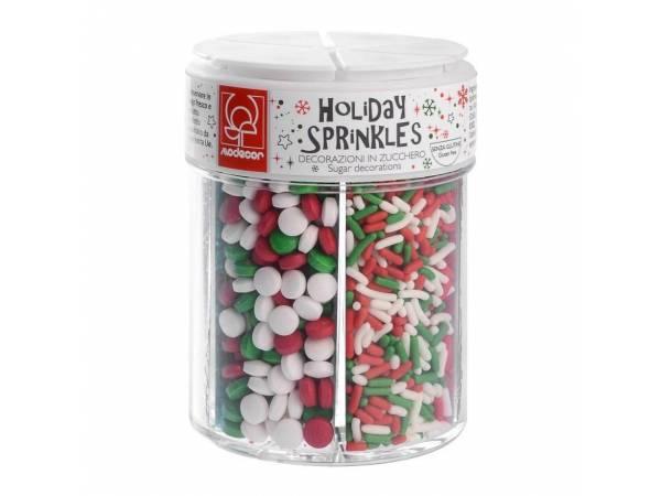 deco de gateau de noel assortiment-6-confettis-de-noel-en-sucre