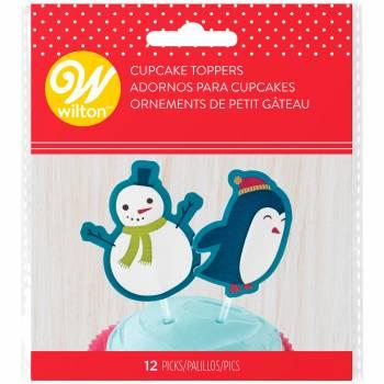 12 Pics décos pingouins de Noël Wilton