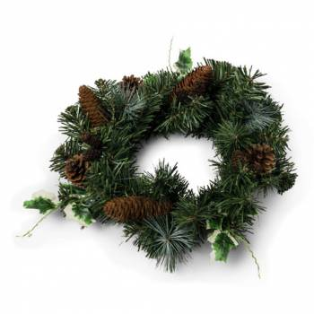 Couronne de sapin artificiel 30cm