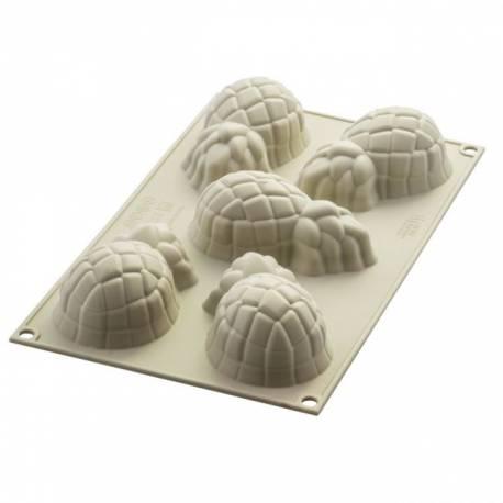 Réalisez de magnifiques gâteaux et autres douceurs en forme d'ananas miniatures grâce à ce moule design 3D en silicone de chez...