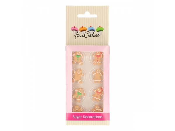 bonhommes de Noël en sucre Funcakes