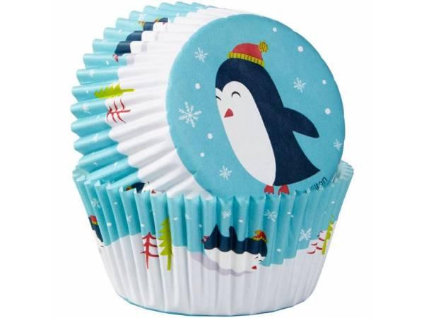 caissettes cupcakes Pingouins Wilton