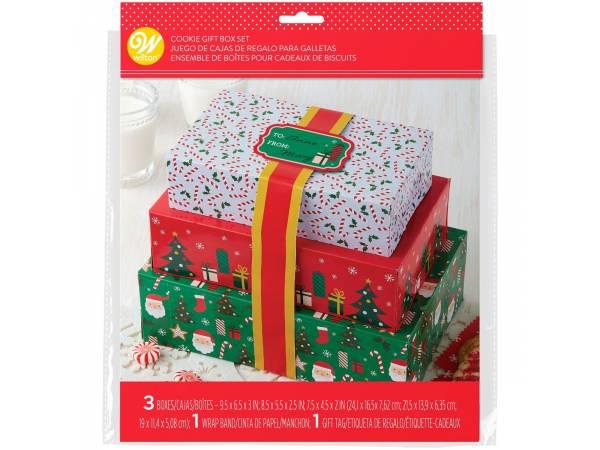 Boîtes à gâteaux de Noël Wilton