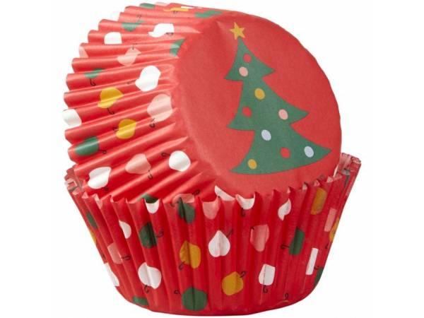 caissettes cupcakes Sapin de Noël Wilton