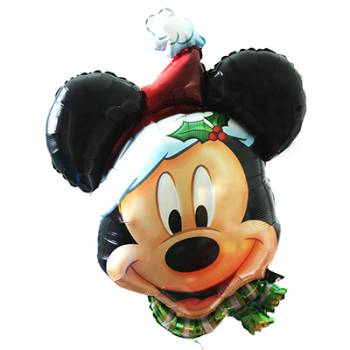 Ballon super Géant Tête de Mickey Noël