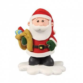 Père Noël fun en sucre 5cm
