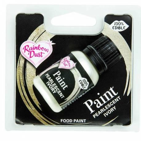 Avec les Metallic Food Paints de Rainbow Dust, vous créez les plus beaux effets de couleur sur la pâte à sucre, la pâte d'amandes, ou...
