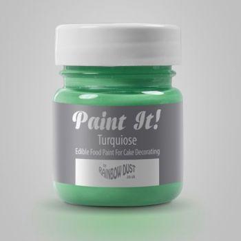 Peinture alimentaire Paint it turquoise