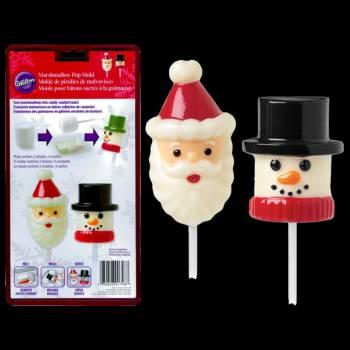 Moule à Marshmallow chocolat Wilton Personnage Noël