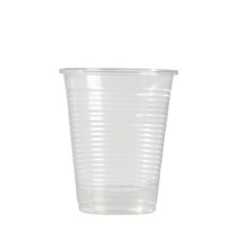 100 Gobelets plastique transparent 20 cl
