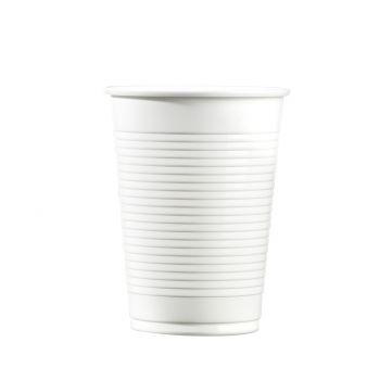 100 Gobelets plastique transparent 20cl