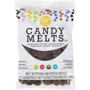 Candy Melts Wilton cacao noir