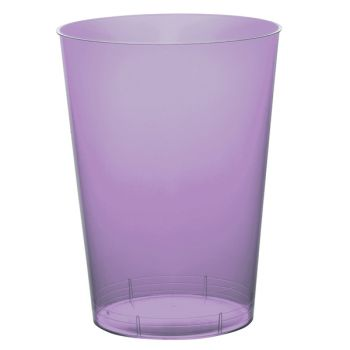10 Gobelet PS lilas 20cl