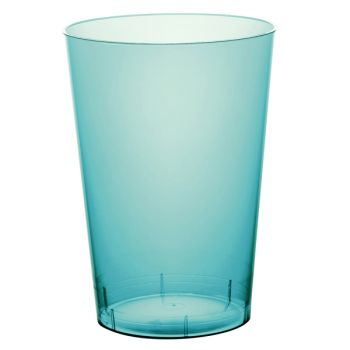 10 Gobelet PS turquoise 20cl