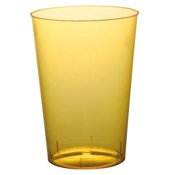 10 Gobelet PS jaune 20cl