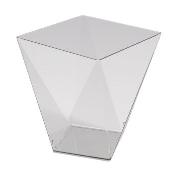 25 verrine diamant transparente