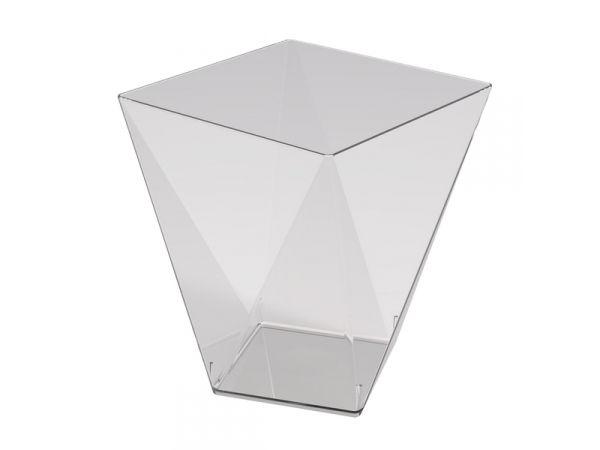25 verrine diamant transparente