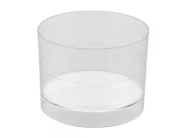 15 verrines ronde transparente