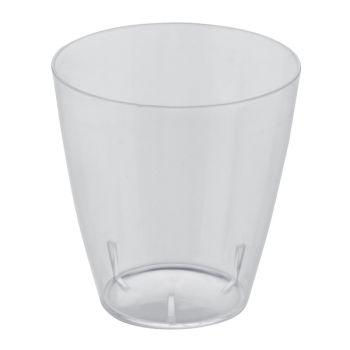25 verrines verre transparente