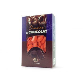 Dragées chocolat brillant oranger 500gr
