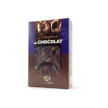 Dragées chocolat brillant chocolat 500gr