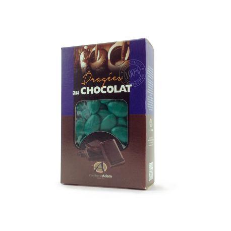 Garnissez vos ballotins, tulles et contenants de mariage, baptême, communion et pacs avec ces dragées à l'intérieur chocolat noir...