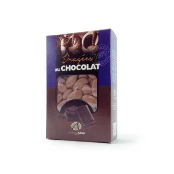 Dragées chocolat brillant taupe 500gr