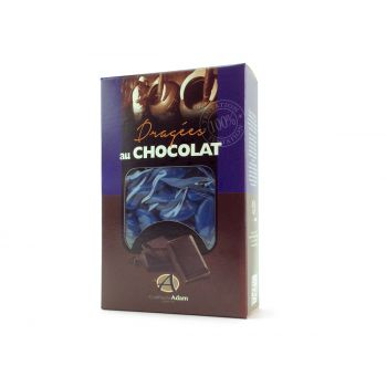 Dragées chocolat brillant bleu roy 500gr