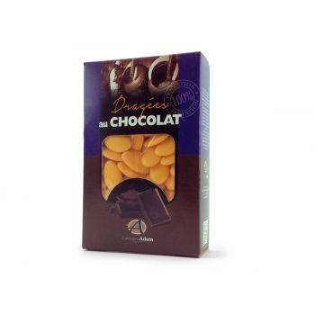 Dragées chocolat brillant mimosa 500gr
