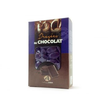 Dragées chocolat brillant aubergine 500gr
