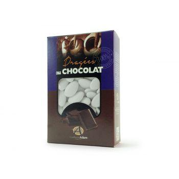 Dragées chocolat brillant blanc 500gr